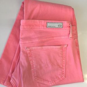 AG pink jeans